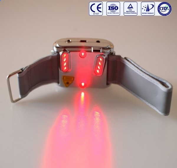 Health & Wellness: laser watch enhances blood circulation and metabolism, cold laser therapy watch