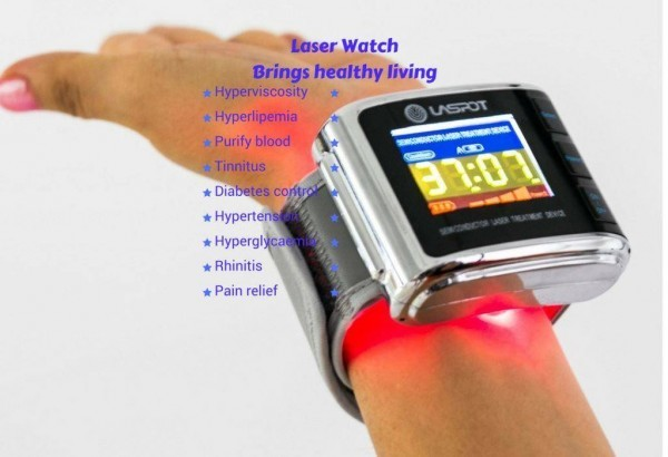 Laser watch brings health living, cold laser therapy watch