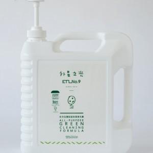 Pesticide removal, veg & fruits wash, ETL No. 9, Green formula (4L)