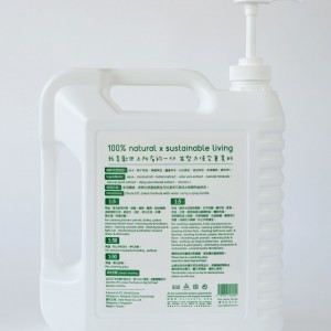 Pesticide removal, veg & fruits wash, ETL No. 9, Green formula (4L)