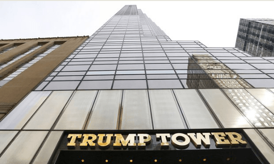Trump tower with feng shui elements, Trump think Feng Shui