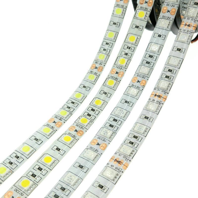Led Strip Lights Flexible 5050 Rgb Rgbw Dc12v 60leds  M 5m