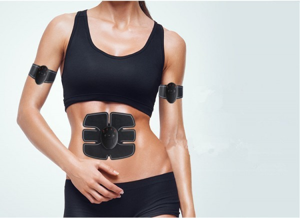ABS ems muscle stimulator abdominal slimming device