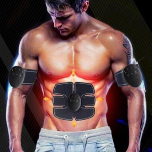 ABS Stimulator electric abs ems muscle stimulator slimmer prevent obesity
