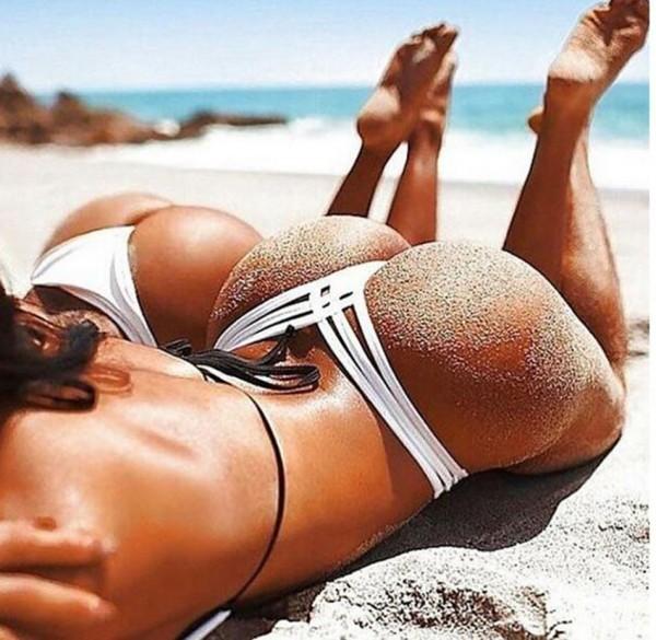Sexy Swimwear Bikini Bottoms Female Mayo Beach Wear Lady's Hipster Briefs Badpakken