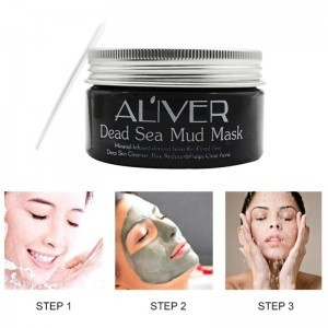 Dead Sea Mud Mask for Facial Treatment Oil control Moisturizing Whitening