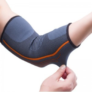 Elbow Brace Breathable Elastic Elbow Support pad for sports safety (1 Pair)