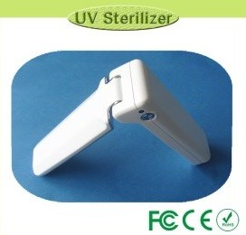 Portable UV sterilizer device