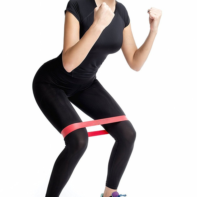 Resistance Bands 4 Levels Rubber Loops Elastic Tension