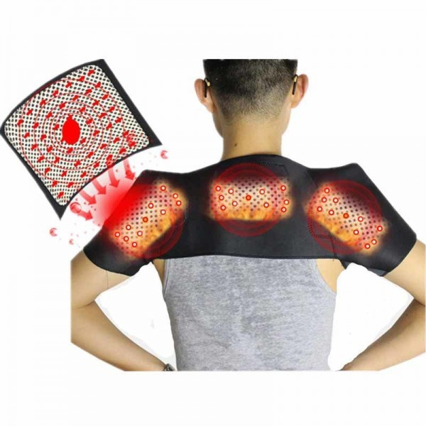 Shoulder Heating Pad Magnetic Tourmaline Spontaneous Heating Belt for shoulder Pain Relief