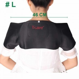 Shoulder heating pad magnetic tourmaline pain relief heating belt – L