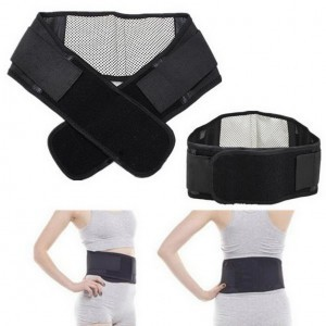 Waist Belt Back Support Braces Tourmaline Self Heating Magnetic Therapy