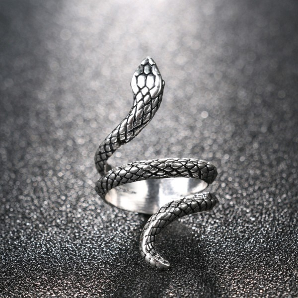 Snake Rings Punk Rock Fashion Vintage Animal Jewelry