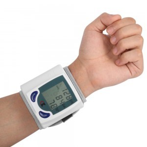 Blood pressure monitor automatic wrist digital heart rate pulse measurement