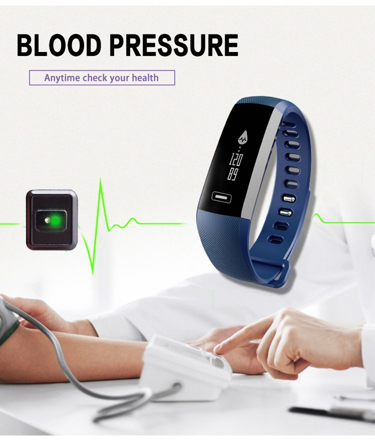 Blood Pressure Watch Smart Watch Heart Rate Oxygen Oximeter | Pasar