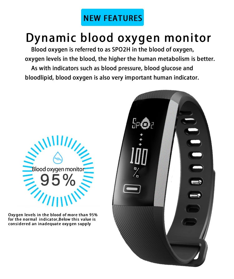 Smart Watch Heart Rate Oxygen Oximeter | Pasar