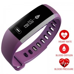 Blood Pressure Watch Heart Rate Oxygen Oximeter Smart Watch Sport Bracelet