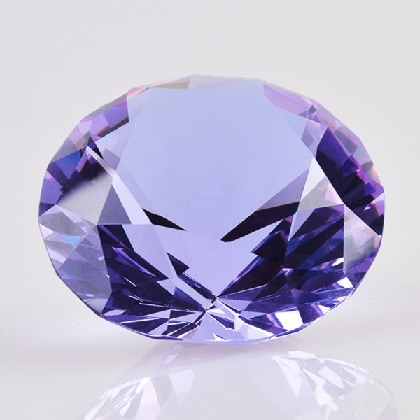 Crystal diamond Feng Shui ornaments home decoration miniatures gifts
