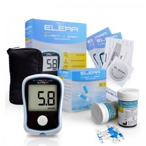 Glucose meters diabetics monitor glucometers 50/100 strips +50/100 needles
