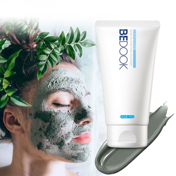 Acne Treatment Remove Blackhead Green Clay Purifying Mud Mask Deep Cleansing Whitening