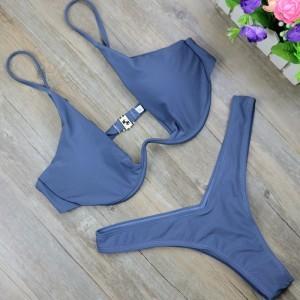 High waist swimsuit micro bikini swimwear for sale high cut thong bathing suit