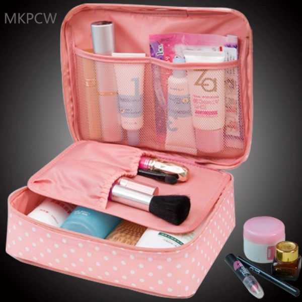 Make Up Organizer Travel Wash Pouch Cosmetic Bag Beauty Case Toiletry kits
