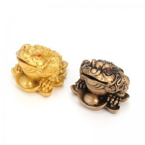 Money Toad Feng Shui Ornament Lucky Fortune Wealth Tabletop Gifts