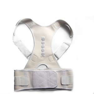Posture Corrector Adjustable Magnetic Corset Back Lumbar Support Brace Belt