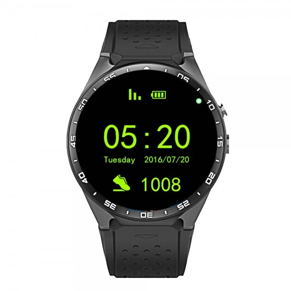 "GPS Smart Watch Android 1.39"" IPS OLED Screen SIM Card WiFi"