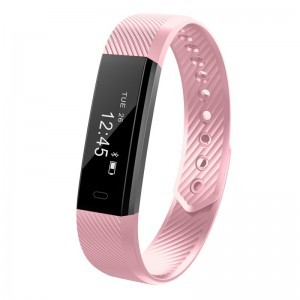 Smart Watch Waterproof Bluetooth Quartz Sport Style Wristwatch Men Women – pink
