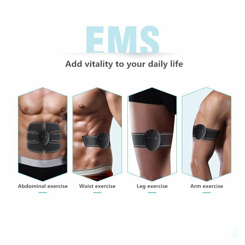 ABS Stimulator electric abs ems muscle stimulator abdominal slimming