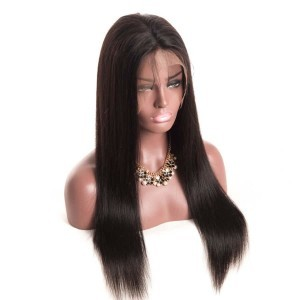 Human Hair Lace Front Wigs 150% Density 360 Lace Frontal Wigs Pre Plucked