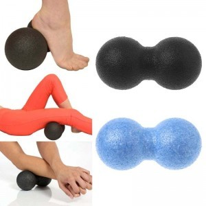 Lacrosse Ball EPP Fitness Peanut Massage Relaxing Trigger Point Therapy