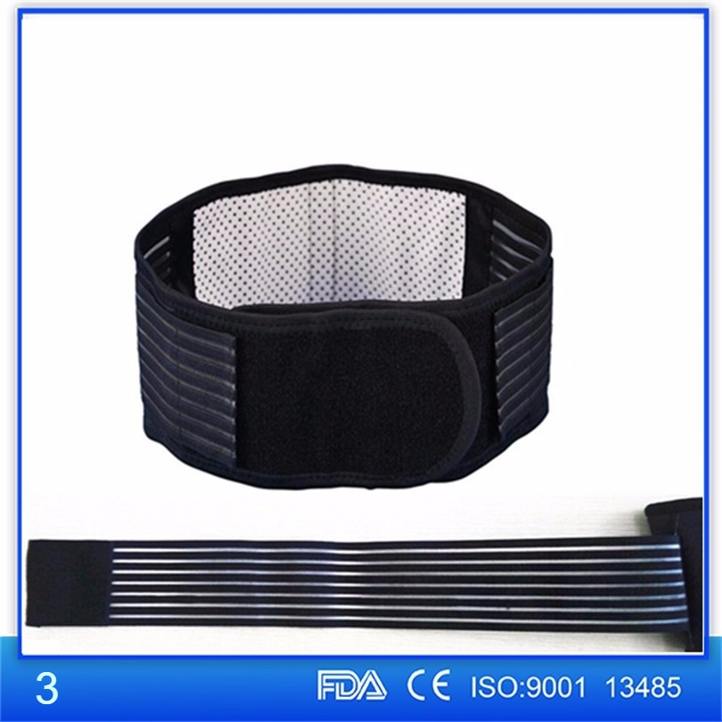 Orthopedic self heating magnetic waist belt
