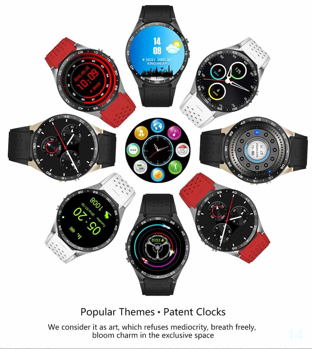 GPS Smart Watch Android
