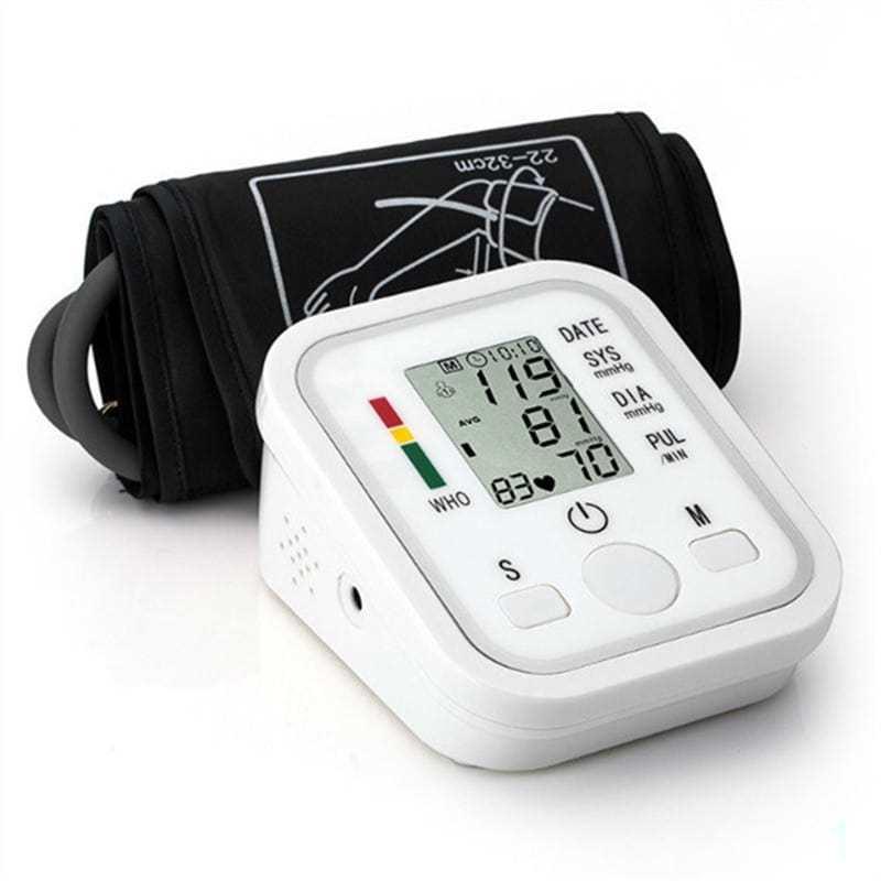 Automatic Arm Blood Pressure Monitor Digital Sphygmomanometer