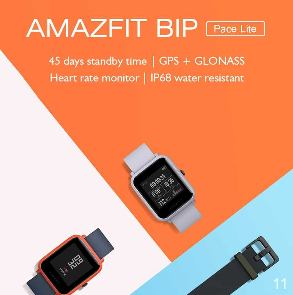 Waterproof Smart Watch GPS IP67 Mi Fit Reflection 1.34""