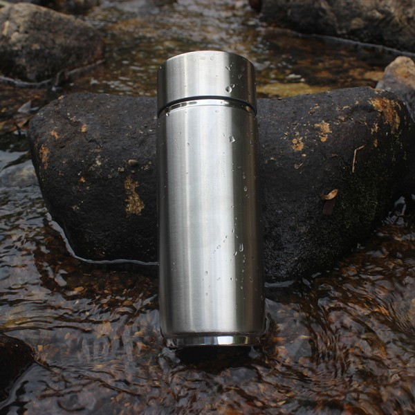 Alkaline water bottle ionizer double filters 304 stainless flask