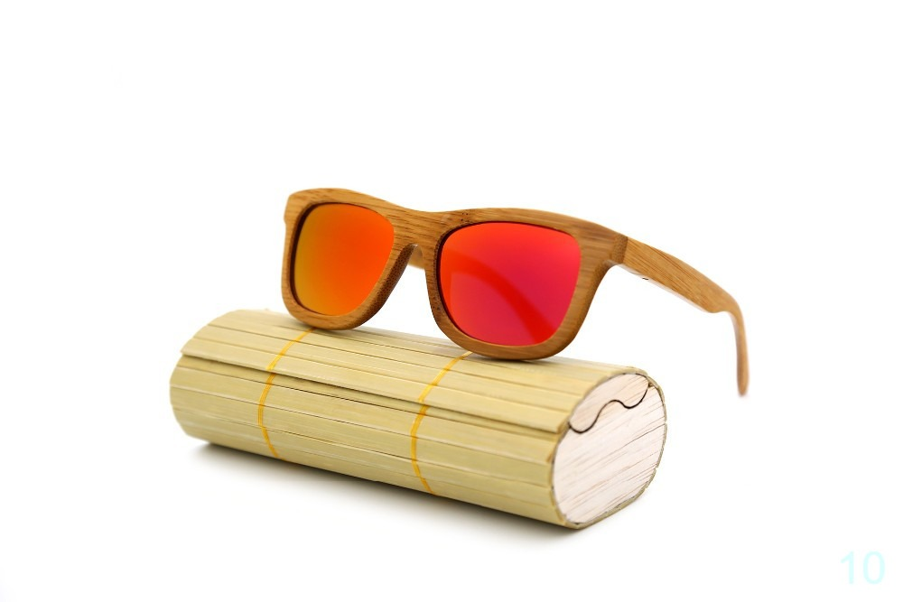 Bamboo sunglasses handmade helps you stand out from the crowd