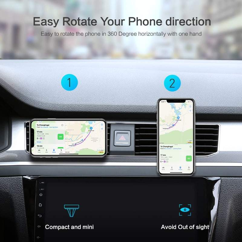 Magnetic Cell Phone Mount >> Magnetic car mount cell phone holder clear line of sight ...