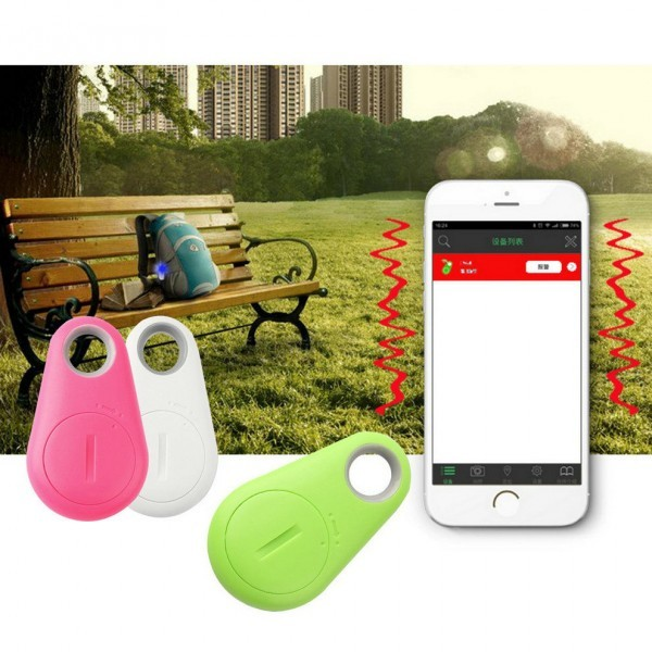 Smart Tracker Bluetooth Tracker Tag Wallet Key Pets Anti-lost
