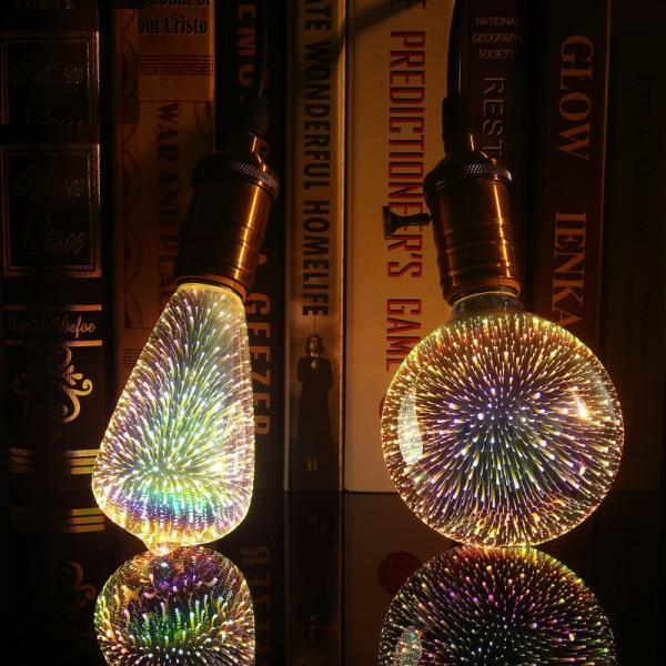 3D LED lamp novelty decoration light bulbs 110V 220V