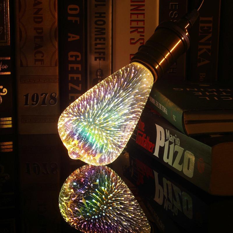 Led Shop Lights >> 3D LED lamp novelty decoration light bulbs 110V 220V ...