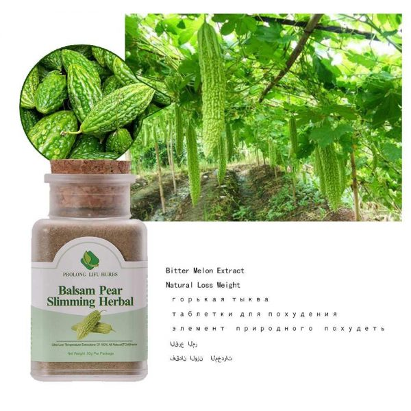 Balsam pear bitter melon extract slimming herbal lose weight remove fat