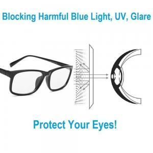 Blue light blocking glasses reduce digital eye strain help sleep better