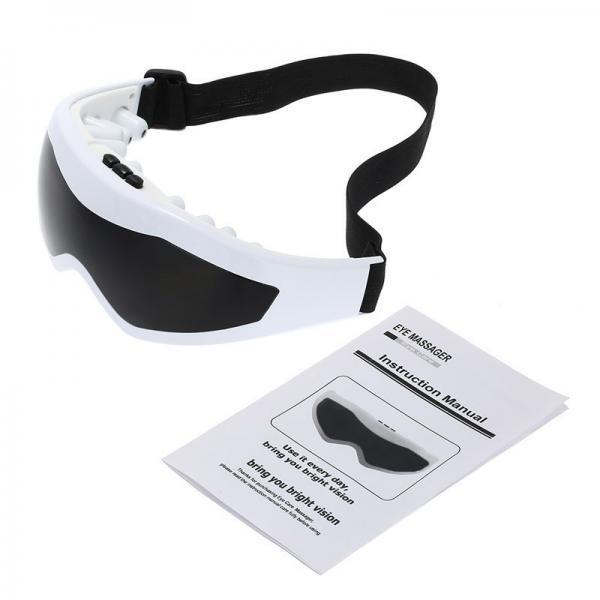 Eye massager vibration forehead magnetic eye relax brain sinus massager