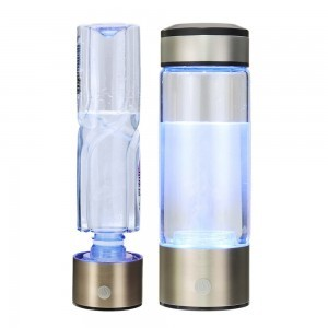 Hydrogen water generator bottle connector USB charging
