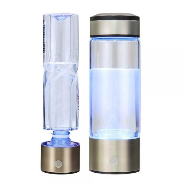 Hydrogen water generator bottle connector USB charging