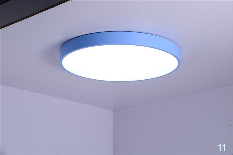 Led Ceiling Lamps Ultra Thin 5cm Multi Color Modern