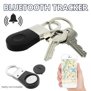 Bluetooth key finder for elderly GPS Tracker anti-lost key chain alarm locator
